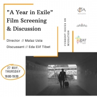 "Film Screening and Discussion. ""A year in Exile"""